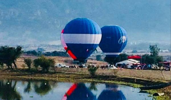 2da Feria Internacional del Globo Aerostático en Paso de Ovejas, Taranda