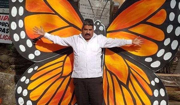 Desaparece activista y defensor de la Mariposa Monarca, Homero Gómez