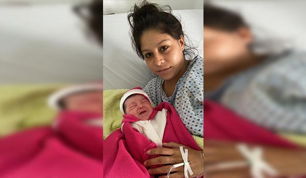 Niña, primer bebé del 2020 en Michoacán