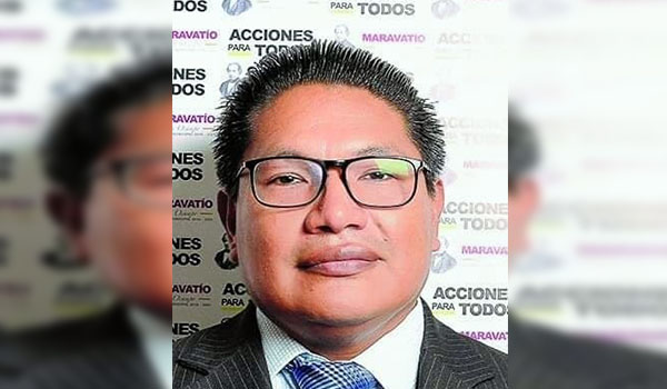 Lic. Alejandro Martínez Ruíz, nuevo Tesorero Municipal de Maravatío