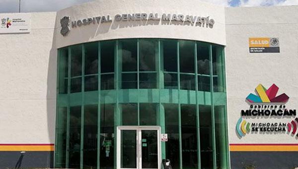 Hospital General de Maravatío al 52% de ocupación de camas por Covid-19