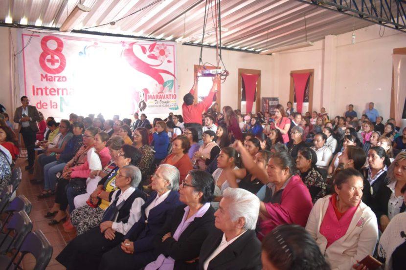 Promueve gobierno municipal de Maravatio igualdad, reconocimiento y respeto a las maravatienses.