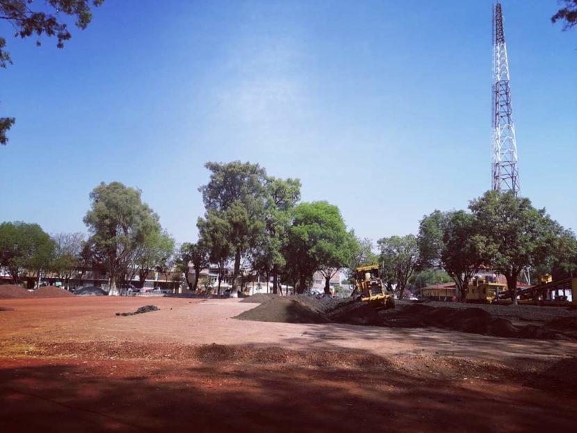 Ayuntamiento continua con el mejoramiento de la Alameda de la Estación