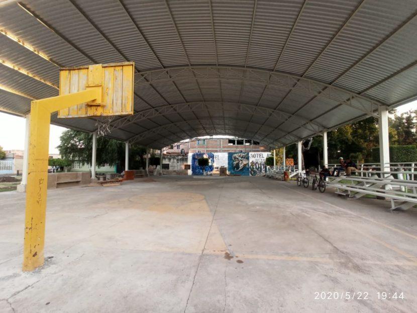 Ayuntamiento de Maravatío comprometidos con la remodelaciòn y construcción de espacios deportivos