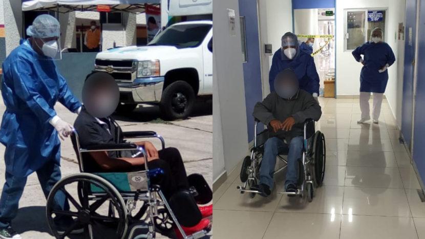 Dos hombres superan COVID-19 en Zitácuaro