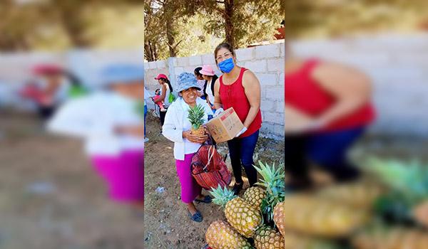 Ayuntamiento de Maravatío continua con la entrega de despensas ante la contingencia