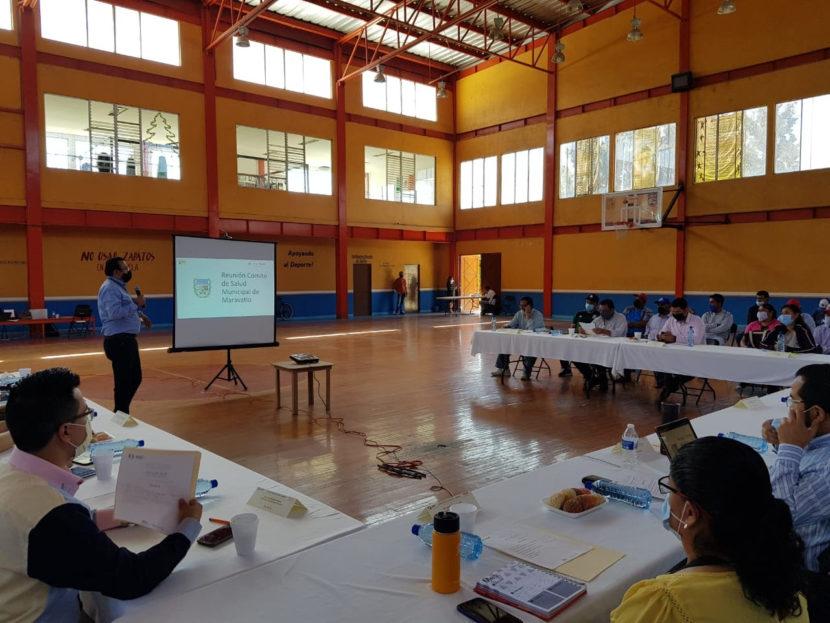 Secretaría de Salud Estatal expone en Maravatío medidas para la Nueva Convivencia