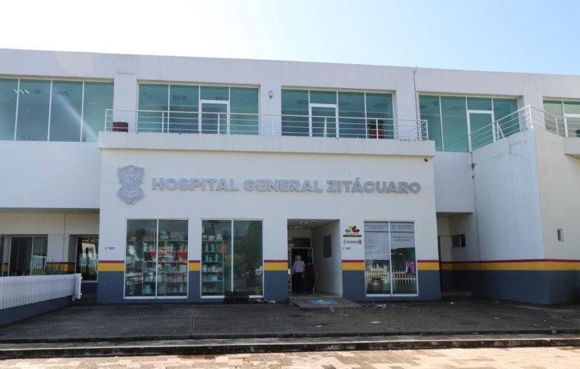 Suman 9 egresos de pacientes de COVID-19 en el Hospital General de Zitácuaro