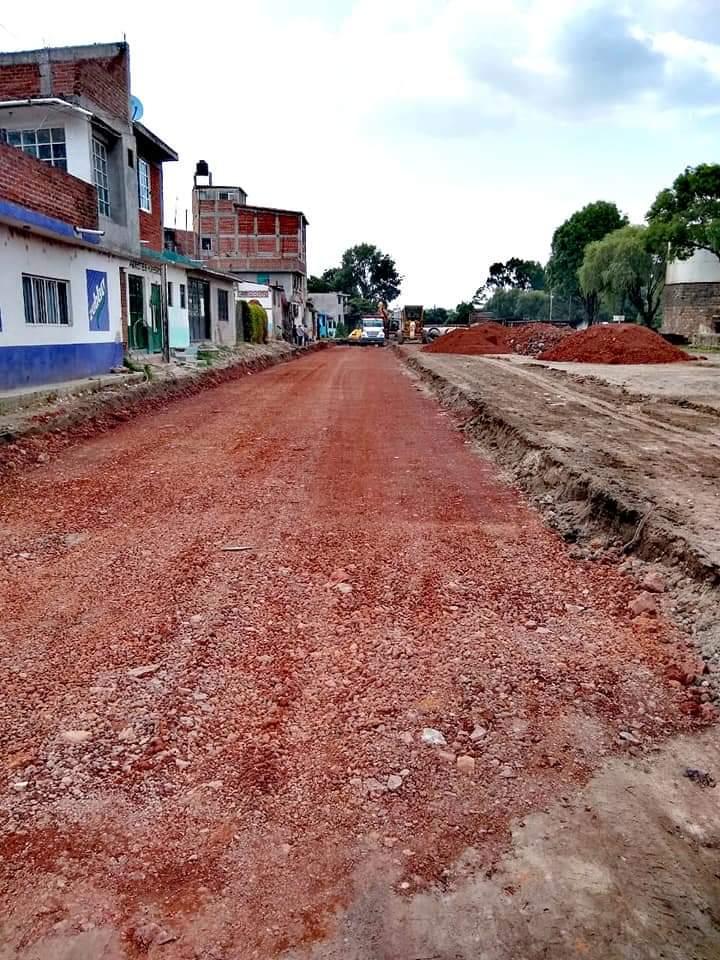 Jaime Hinojosa inicia trabajos en lo que será una calle emblemática para Maravatío