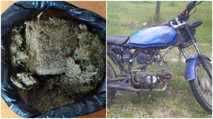 Lo detienen con más de un kilo de marihuana en la Maravatío – Cd. Hidalgo