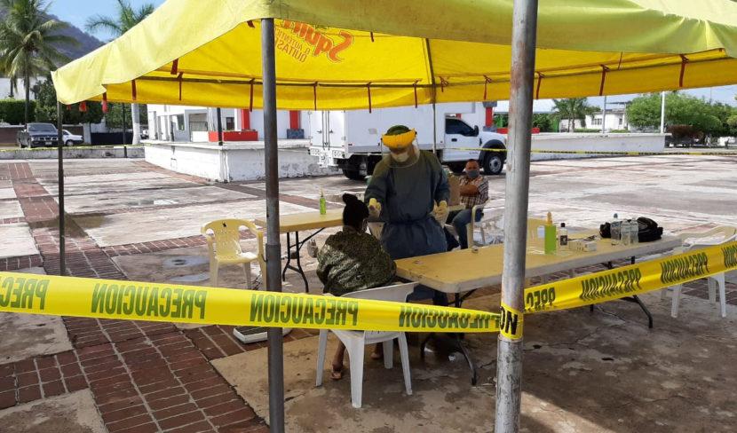 Mantiene SSM unidades móviles de toma de muestra en municipios con bandera amarilla
