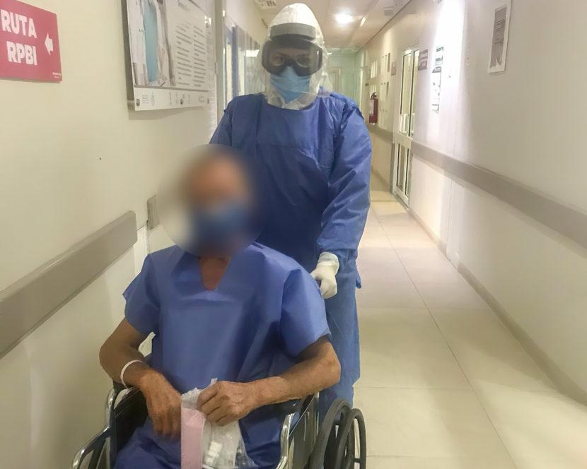 Paciente diabético vence al COVID-19 en Hospital General de Apatzingán