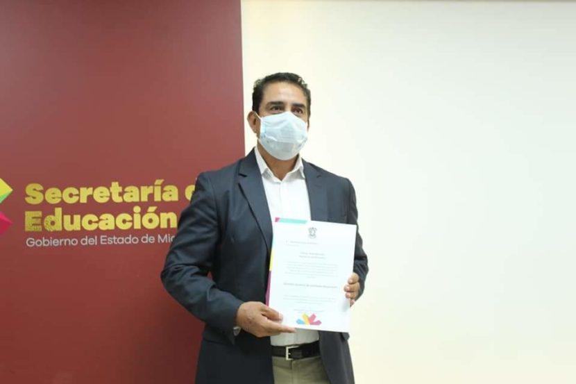 Mtro. Heriberto Lugo Contreras recibe el nombramiento como Director General de Unidades Regionales
