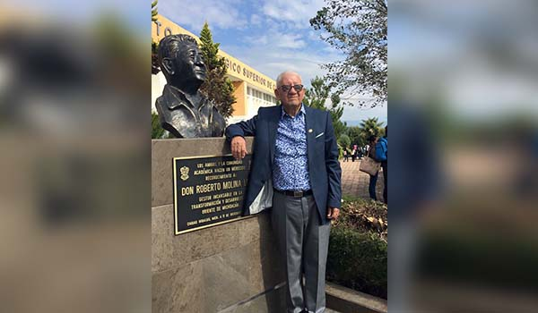 Fallece el destacado político y empresario, Roberto Molina Loza
