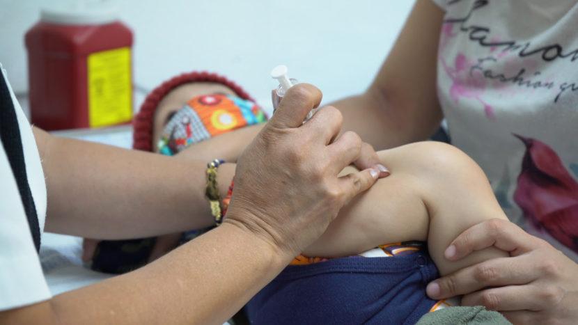 Más de 51 mil niños y niñas michoacanos han sido protegidos contra el sarampión