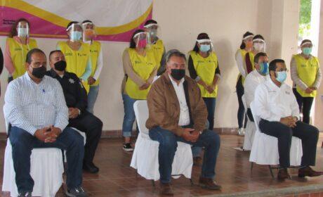 """FOTOGALERÍA: Da inicio el programa """"Guardianes de la Salud"""" en Maravatío."""