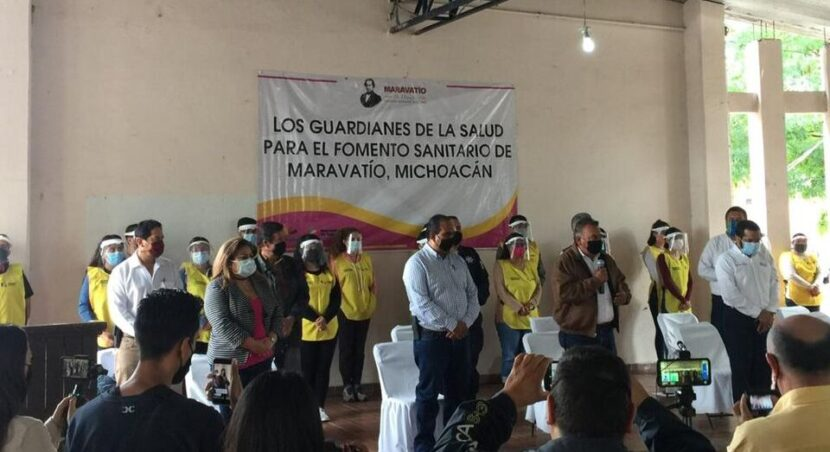 Llegan los Guardianes de la Salud a Maravatío, cerrarán negocios que no cumplan medidas sanitarias