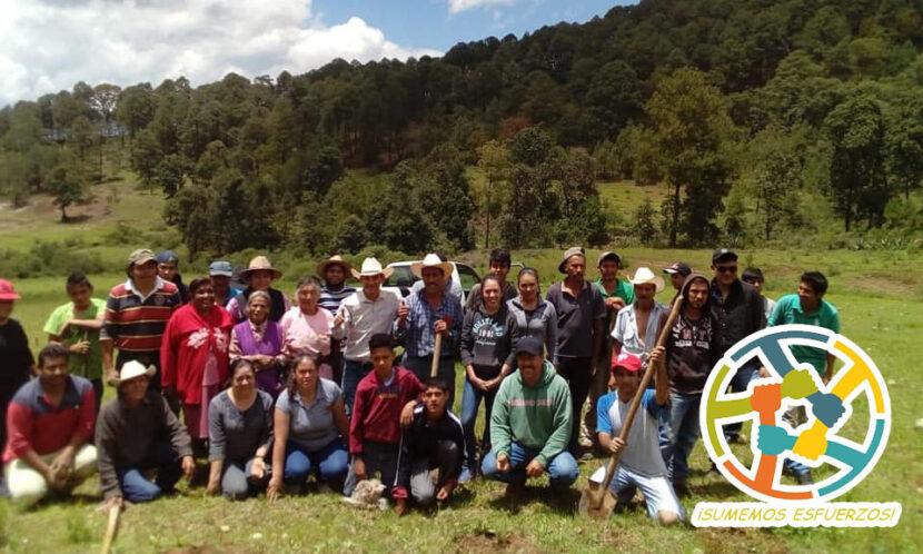 """Colectivo """"Sumemos Esfuerzos"""", jóvenes organizados que buscan contribuir con acciones para el desarrollo de la región."""