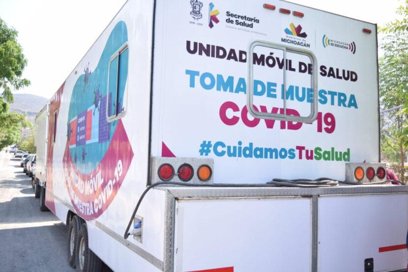 Refuerza SSM toma de muestra en municipios con Bandera Amarilla