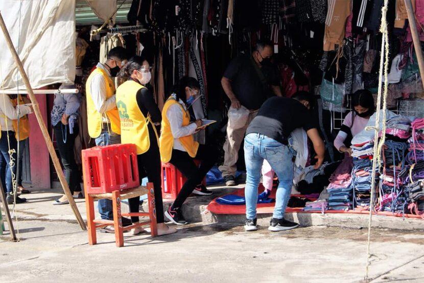 Guardianes de la Salud continúan verificando que establecimientos de Maravatío cumplan con las medidas de sanidad