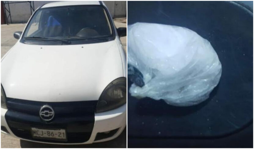 Durante persecución, SSP detiene a dos en posesión de droga en Maravatío