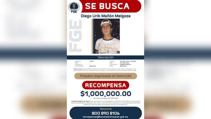 Detienen a Diego, presunto responsable del feminicidio de Jessica