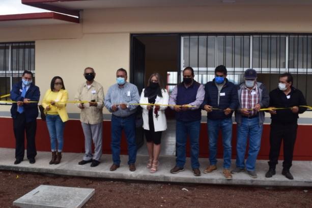 Esc. Sec. M.V.Z. José Jaime Hinojosa Campa celebra su Primer Aniversario con inauguración de aulas académicas