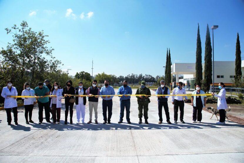 Ayuntamiento entrega formalmente el acceso al área de urgencias del Hospital General de Maravatío