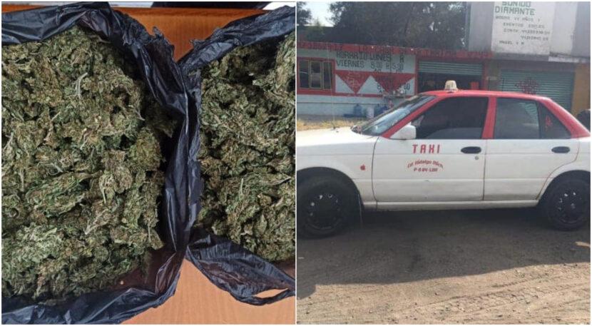 Detienen a dos con mariguana en Maravatío