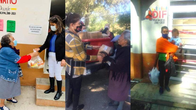 DIF Maravatío trabaja arduamente ante la contingencia sanitaria