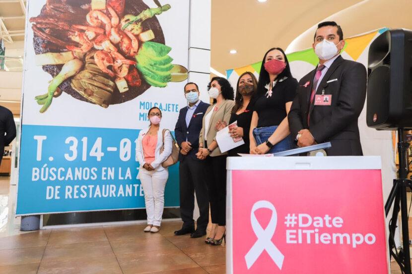 """Lanzan """"Date El Tiempo"""", campaña para prevenir y detectar el cáncer de mama"""