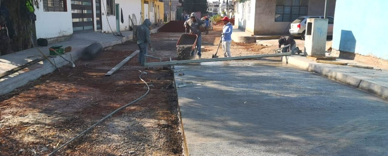Obra pública en el Municipio de Maravatío no cesa actividades: Ayuntamiento