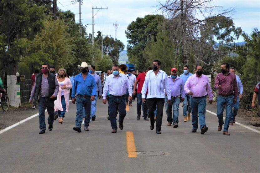 Jaime Hinojosa entregó la rehabilitación al acceso a Pomoquita