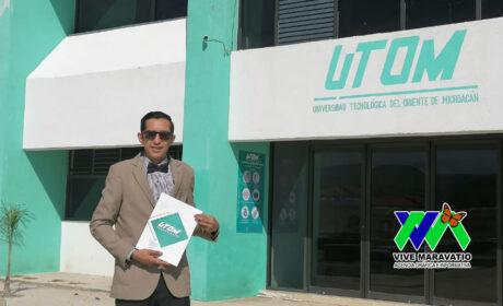 Ing. David Martínez Santillán, egresado de la primera generación de la UTOM y caso de éxito