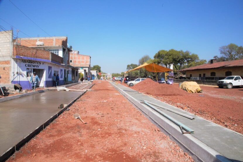 Av. Ferrocarril dará mayor fluidez al tráfico de Maravatío: Ayuntamiento