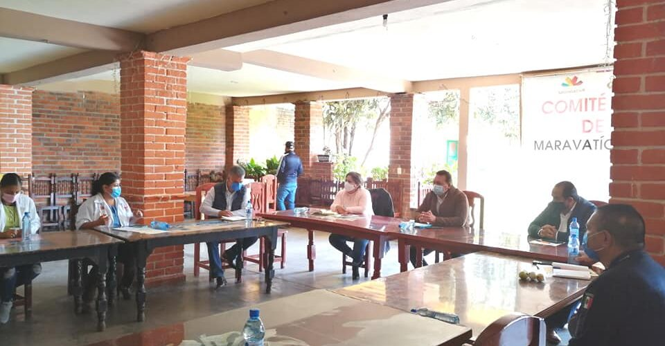 Dos nuevas comunidades y colonias de Maravatío presentaron casos de Covid-19