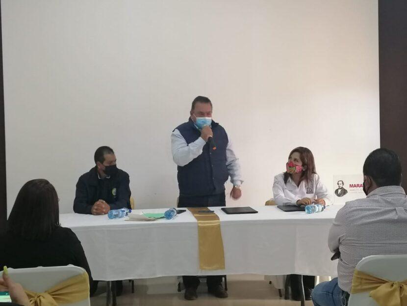 Ayuntamiento de Maravatío firma convenio con el IMSS en beneficio para sindicalizados