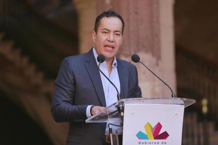 Carlos Herrera va por gubernatura de Michoacán, renunció a la Segob