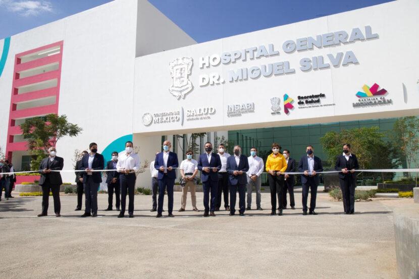Inauguran los nuevos hospitales Civil e Infantil de Michoacán