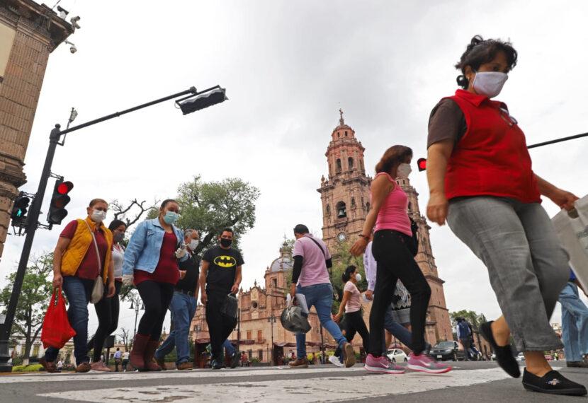 Morelia, en Bandera Roja por alto riesgo de contagio de Covid-19