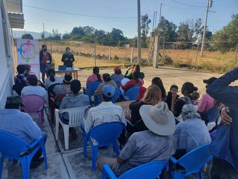 Instituto de la Mujer Maravatiense lleva talleres a comunidades