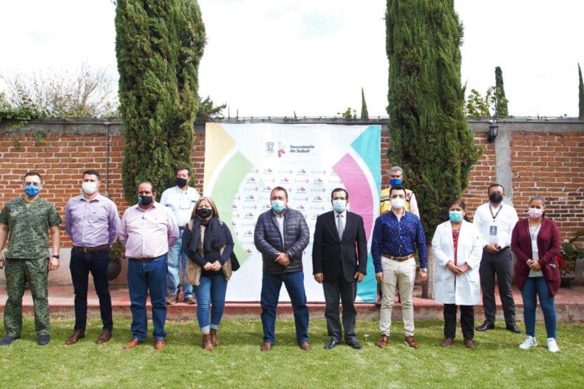 Jefe de la Jurisdicción Sanitaria 1 reconoce trabajo del Ayuntamiento de Maravatío ante la pandemia