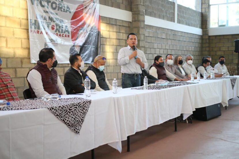 7 mil Comités ratifican apoyo a Torres Piña: López Meléndez