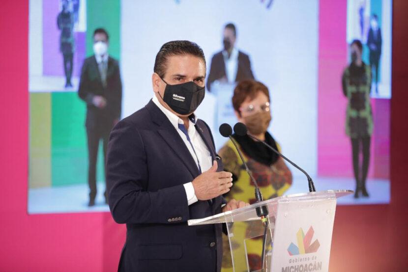 Silvano Aureoles advierte que de no controlarse los contagios de Covid-19 se endurecerán las medidas