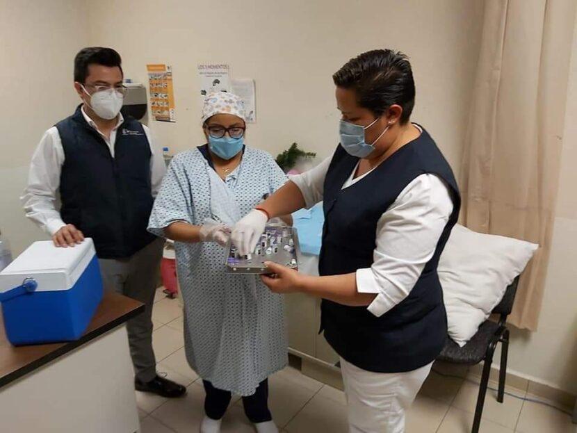 Vacuna contra Covid-19, lista para aplicarse a personal médico de Maravatío