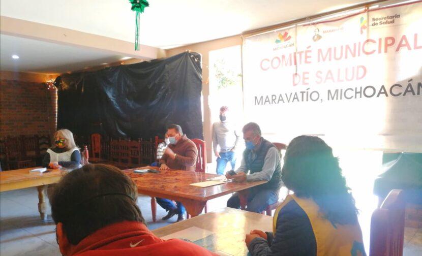 Hospital General de Maravatío al 85% por Covid-19