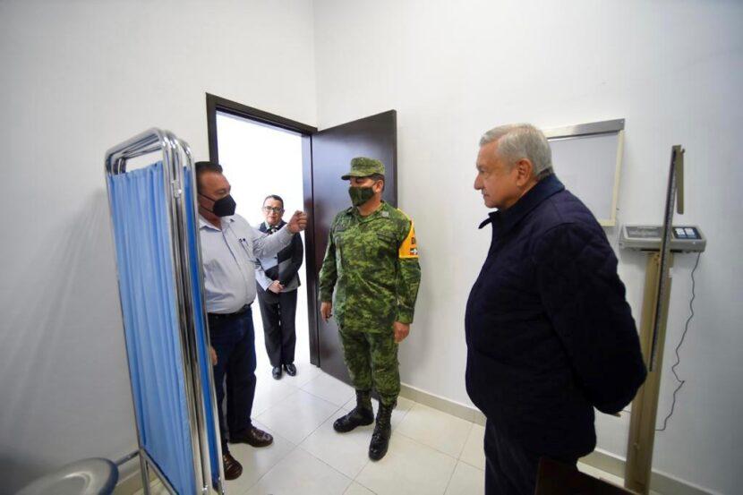AMLO inauguró instalaciones de la Guardia Nacional, en Maravatío