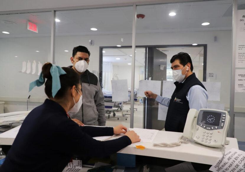 Mantienen evaluación permanente de capacidad hospitalaria en Michoacán