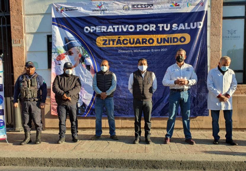 Arranca operativo sanitario en Zitácuaro